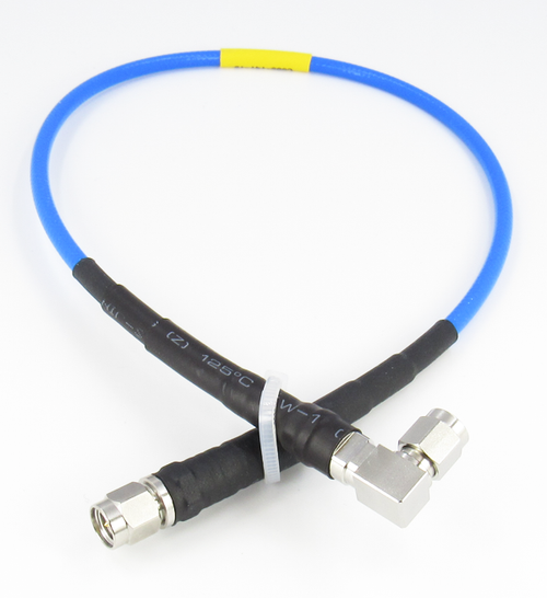 C595-141-18 SMA/M to SMA/MRA Flexible RG402 Cable Centric RF