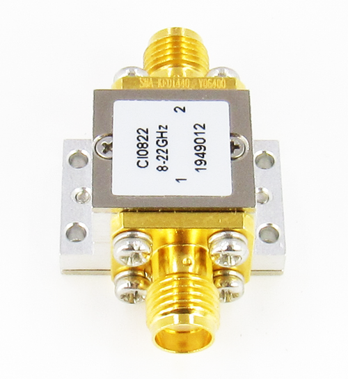 CI0822 Isolator SMA F/F 8-22 Ghz VSWR 1.6 10Watts