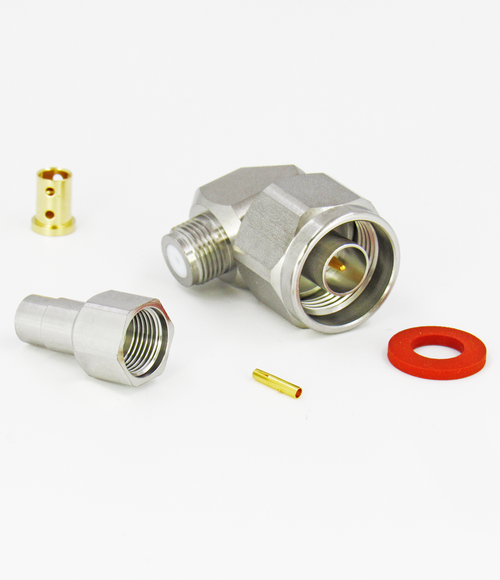 CX1442 N Male Right Angle Connector for LL142 Cable