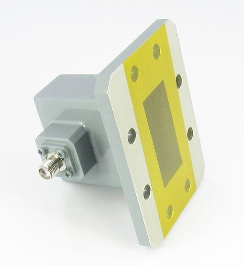 CWR137SF WR137 to SMA Waveguide to Coax Centric RF