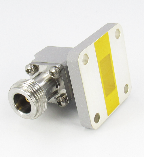 CWR62NC WR62 to N Waveguide to Coax Adapter Centric RF