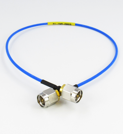 C585-047-12 SMA/Male Formable Semirigid Cable 047 Centric RF