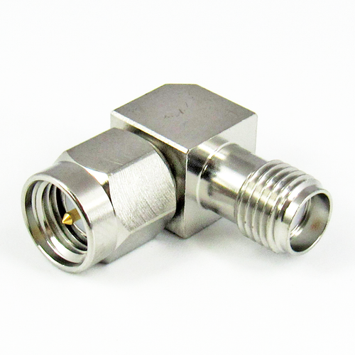 C3225 SMA Right Angle Adapter Male to Female Centric RF