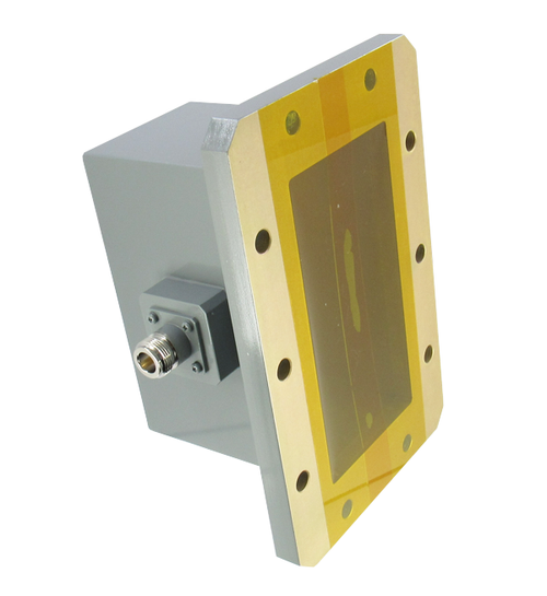 CWR510NB WR510 to N Waveguide to Coax Adapter Centric RF