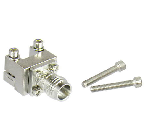 1492-02A-6 2.4mm End Launch Low Profile Connector Centric RF