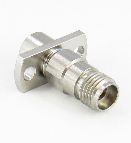 C4243 SMP Male to 2.92mm Female Flange Adapter Centric RF