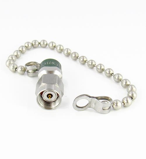 C671C 1.85mm Termination w Chain Male 1W VSWR 1.6 67Ghz