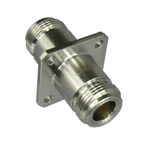 C5652 N/Female to N/Female Flange Adapter Centric RF