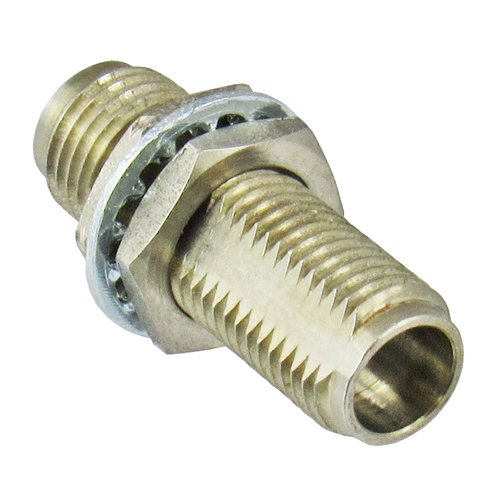 C7520 2.4/Female to 2.4/Female Bulkhead Coaxial Adapter Centric RF