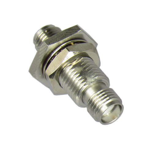 C3396 SMA/Female to SMA/Female Bulkhead Adapter Centric RF