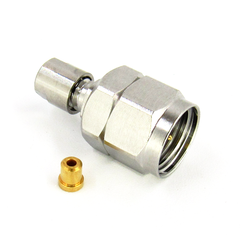 CX1851 1.85 mm Connector Plug .047 Cable Clamp