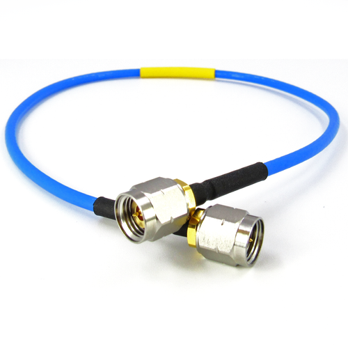 C505-086-09 2.4mm Flexible Interconnect Cable 50Ghz VSWR 1.4 9""