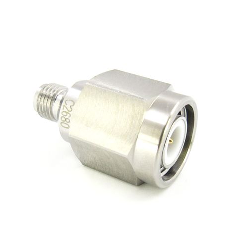 C2680 SMA Female to TNC Male Adapter 18Ghz VSWR 1.15 S Steel