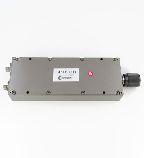 PHASE SHIFTER 18.6GHZ 60DEG/GHZ INS LOSS 1.0DB VSWR 1.6 MAX; 100W;  60DEG 1GHZ; 120DEG 2GHZ; ETC SMA Centic RF