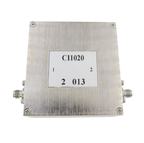 CI1020 Isolator SMA Female 1-2Ghz VSWR 1.35 10Watts (CI1020)