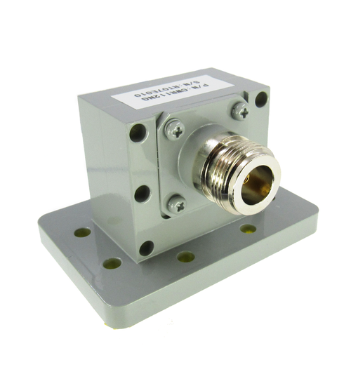 CWR112NG WR112 to N WG to Coax Adapter CPR112G Flange 7.05-10Ghz VSWR 1.2 150 Watts