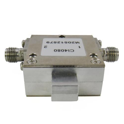 CI4080  Isolator SMA Female 4-8Ghz VSWR 1.35 10Watts