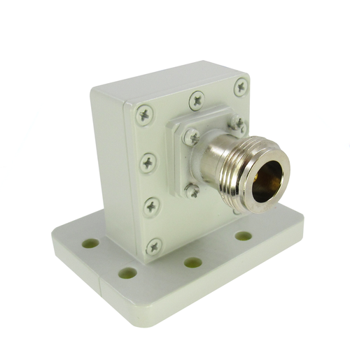 CWR90NH WR90 to N WG/Coax 8.2-12.4Ghz VSWR 1.25 8 Hole Grooved Flange (CWR90NH )