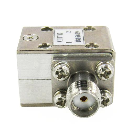CI0712  Isolator SMA Female 7-12Ghz VSWR 1.3 10Watts