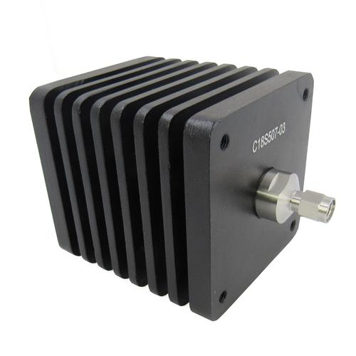 C18S507-03 SMA 18Ghz 50Watt 3db Square Attenuator BiDirectional