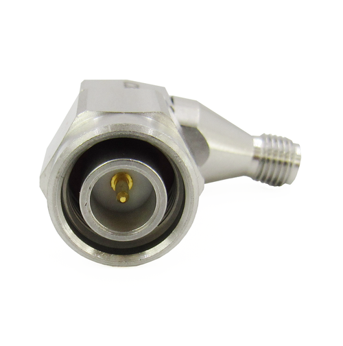 C2675 SMA Female to TNC Male Right Angle Adapter 18Ghz VSWR 1.2 S Steel