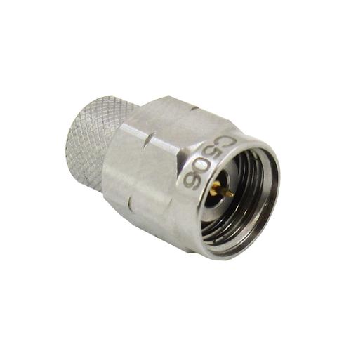 C506 2.4mm Coaxial Termination Male 2Watt VSWR 1.2 Max 50Ghz