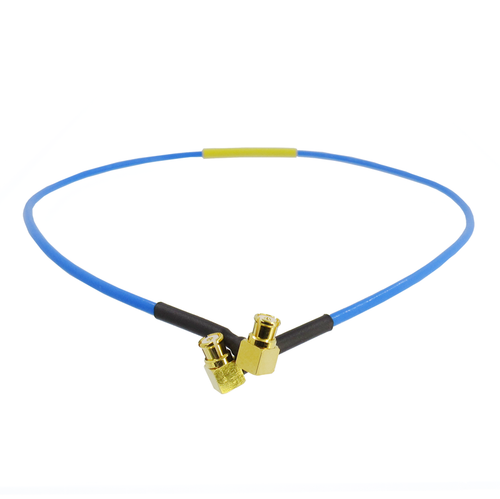 C545-047-XX Cable SMP /FRA to SMP /FRA 047 Hand Formable 18Ghz VSWR 1.4