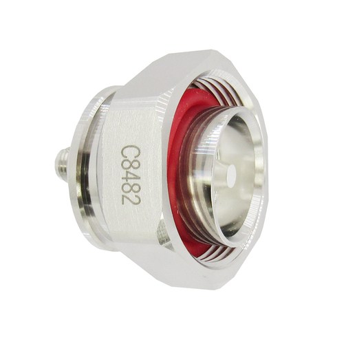 C8482 7/16 Male to SMA Female Adapter <165 dBc 7.5Ghz VSWR 1.25