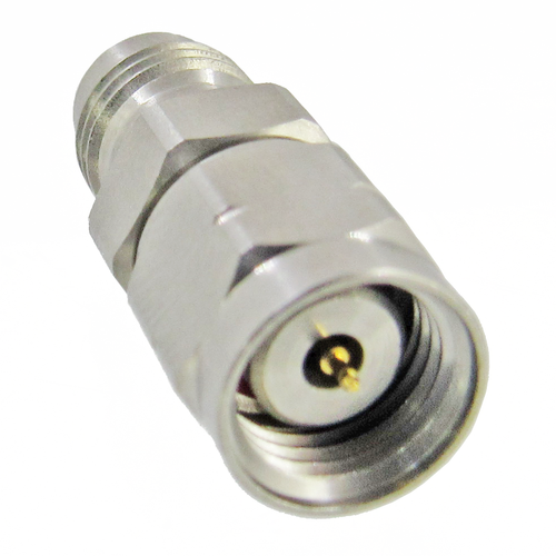 C8077 1.85mm Adapter Male to Female VSWR 1.25 Max  67Ghz