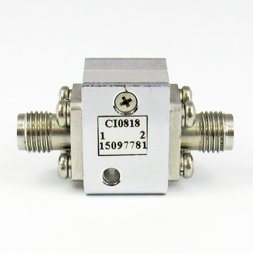 CI0818 Isolator SMA Female Centric RF
