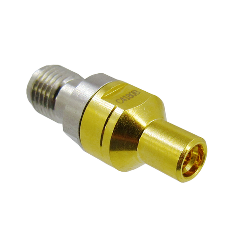 C4180B SMP Male Limited Detente to SMA Female Adapter VSWR 1.2 18Ghz