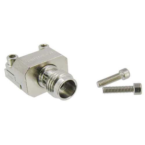 """1492-04A-12 2.4mm End Launch Connector .005"""" pin 50ghz .007/.048/.1 Narrow Block"""