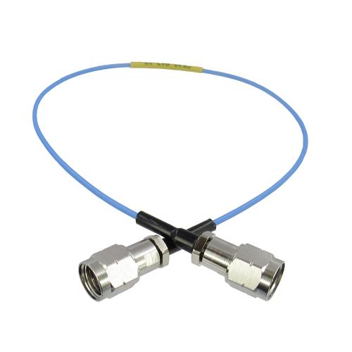 """C543-047-XX 1.85mm M/M 047"""" Cable 70Ghz Flexible X"""" VSWR 1.4"""