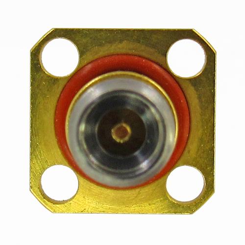 C7075B 2.92mm Hermetic Flange Adapter F/F  1x10-8  & IP68 VSWR 1.4 40Ghz