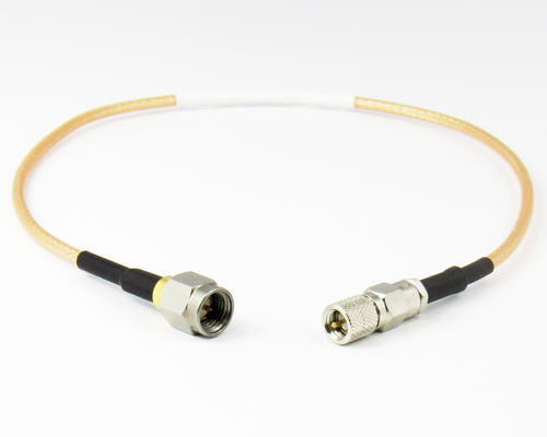 C5153-316-XX 3 to 36 inches 10-32 Microdot Male to SMA/Male RG316 Custom Cable Centric RF