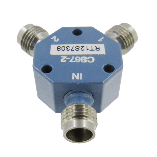 CS67-2 1.85mm Resistive Power Divider 0-67 Ghz VSWR 1.8 F-F-F