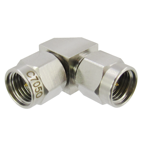 C7050 2.92mm Right Angle Adapter Male to Male VSWR 1.25 40Ghz (C7050)