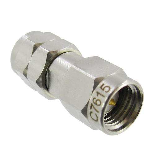 C7615 2.4mm Male to SMA Male Coaxial Adapter VSWR 1.15 27Ghz (C7615)