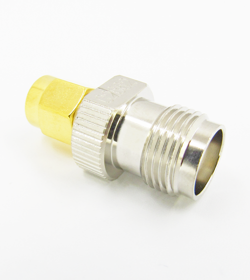 C2662 SMA Male to TNC Female Adapter 11Ghz VSWR 1.3 Brass