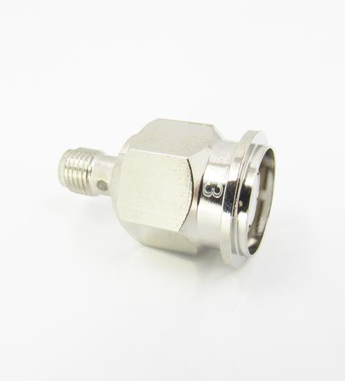 C2673 SMA Female to TNC Male Adapter 11Ghz VSWR 1.3 Brass