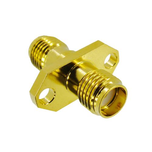 C3103 SMA 2-Hole Flange 18Ghz VSWR 1.2 S Brass