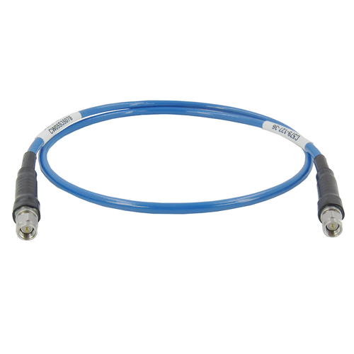"C579-127-XX SMA Test Cable Ultra Flexible 27Ghz VSWR 1.3 XX"""