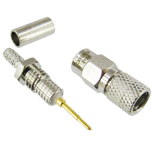 CX10323 10-32 Male Crimp Connector for RG316DS