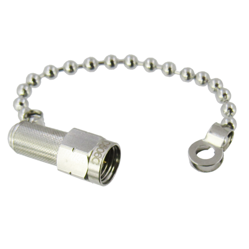 C506C 2.4mm Coaxial Termination with Chain Male 2Watt VSWR 1.2 Max 50Ghz