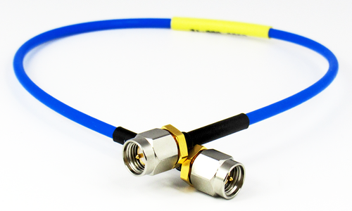 C585-086-07 SMA/Male to SMA/Male 18 Ghz .086 Formable 7 inch Cable Assembly Centric RF