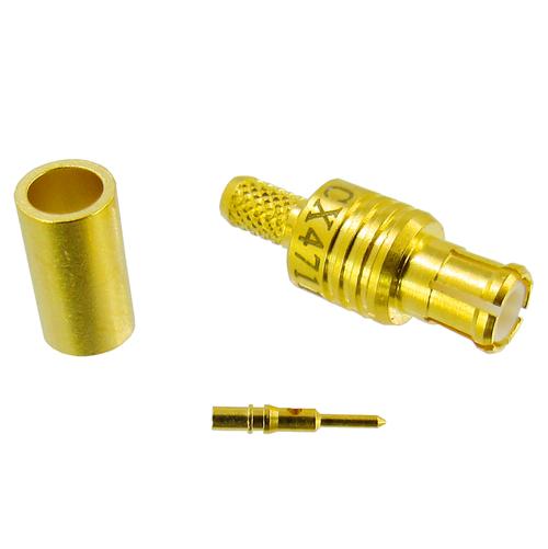 CX4711 MCX Plug Connector RG316 RG174 RG188 (CX4711)