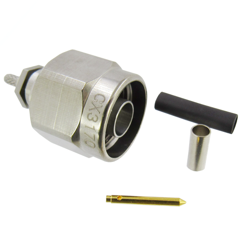 CX3170 N Male Connector for RG316DS Cable S Steel (CX3170)