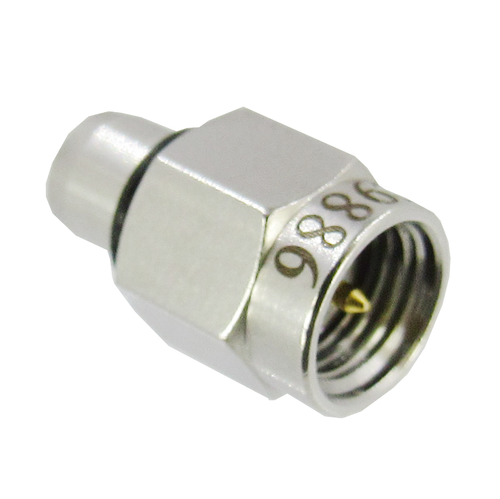 C9886 BMA Plug to SMA Male Adapter 18Ghz VSWR 1.2