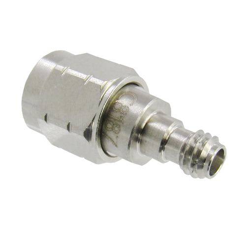 C8187 1.0mm Female to 1.85mm Male Adapter VSWR 1.25 67Ghz