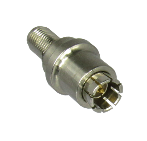 C3060 SMA/Male Quick Release to SMA/Female Coaxial Adapter Rear View Centric RF